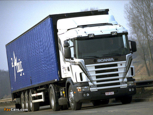 Scania 124L 400 4x2 1995–2004 wallpapers (640 x 480)