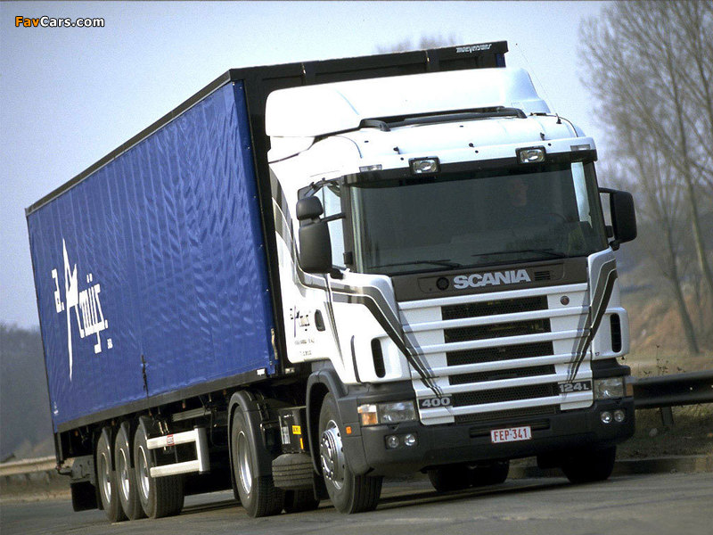 Scania 124L 400 4x2 1995–2004 wallpapers (800 x 600)