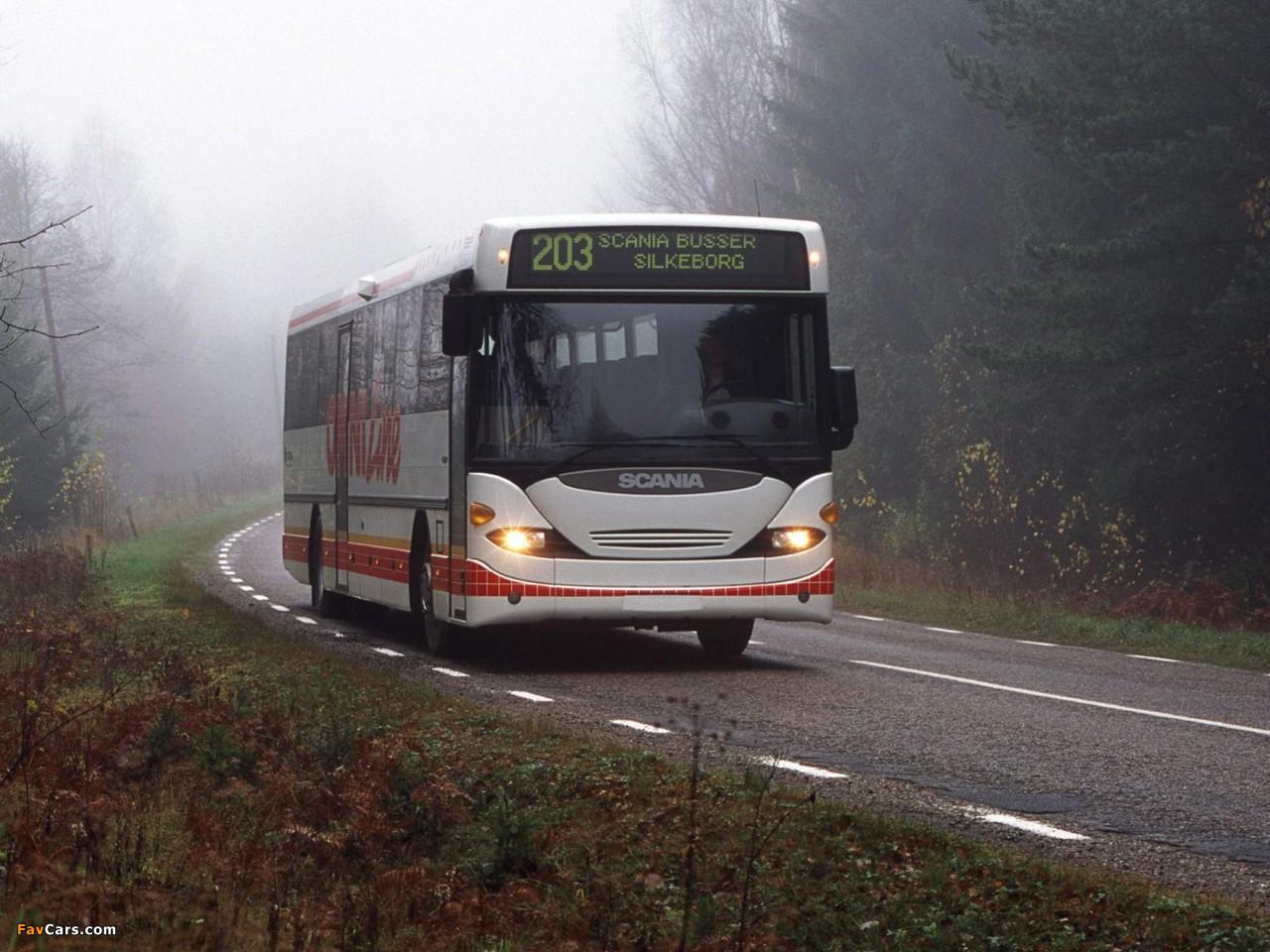 Scania OmniLine 2000–03 images (1280 x 960)