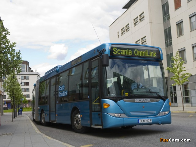 Photos of Scania OmniLink Articulated 2006 (640 x 480)