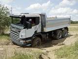 Images of Scania P380 6x6 Tipper 2004–10