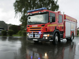 Images of Scania P340 4x2 Crew Cab Fire Engine 2005–10