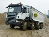 Photos of Scania P360 8x4 Tipper 2005–10