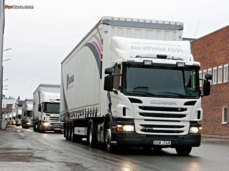 Photos of Scania P270 4x2 Bio-ethanol 2011 (800 x 600)