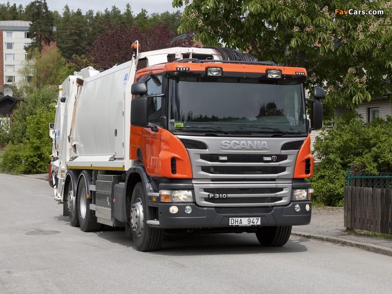 Photos of Scania P310 6x2 Rolloffcon 2011 (800 x 600)