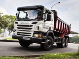 Photos of Scania P380 6x4 Tipper 2011