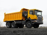 Pictures of Scania P380 6x6 Tipper 2004–10
