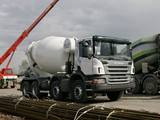 Pictures of Scania P380 8x4 Mixer 2004–10