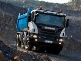Pictures of Scania P420 8x4 Tipper Off-Road Package 2011