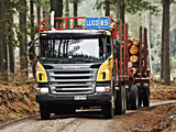 Scania P380 6x4 Timber Truck 2004–10 images