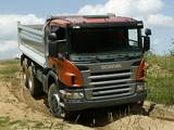 Scania P380 6x6 Tipper 2004–10 images