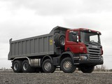 Scania P380 8x4 Tipper 2004–10 images