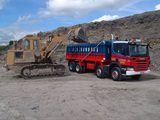 Scania P340 8x4 Tipper 2004–10 wallpapers