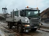 Scania P340 4x4 Crew Cab 2005–10 pictures