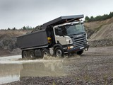 Scania P420 8x4 Tipper 2010–11 images