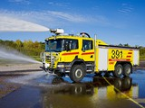 Scania P380 6x6 Crew Cab Firetruck 2004–10 wallpapers