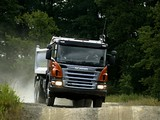 Scania P380 6x6 Tipper 2004–10 wallpapers