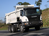 Scania P410 6x4 Tipper 2011 wallpapers