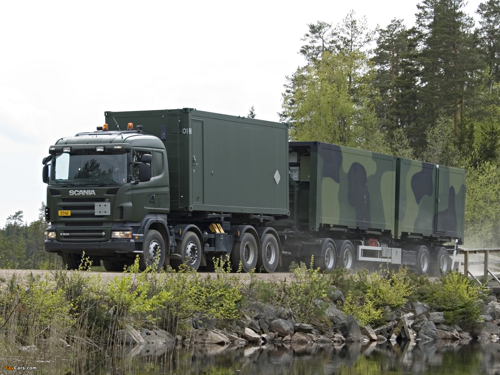 Images of Scania R500 8x4 HZ 2004–09 (1600 x 1200)
