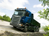 Images of Scania R580 8x4 Tipper 2004–09