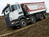 Images of Scania R500 8x4 Tipper 2004–09