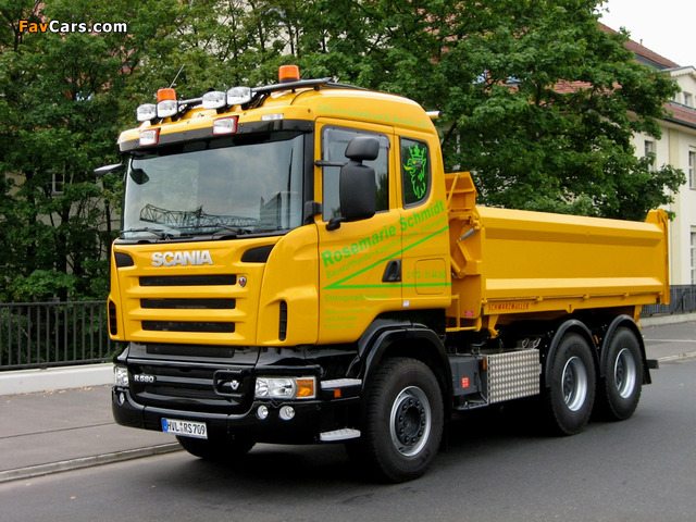 Images of Scania R580 6x4 Tipper 2004–09 (640 x 480)
