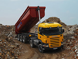 Images of Scania R420 4x4 2004–09