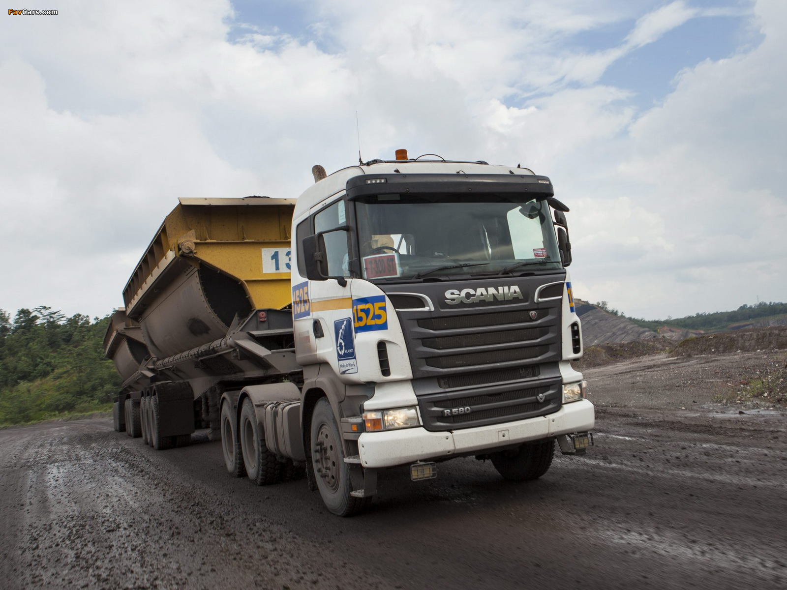 Images of Scania R580 6x4 2005–09 (1600 x 1200)