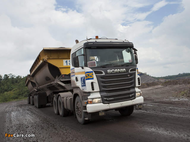 Images of Scania R580 6x4 2005–09 (640 x 480)
