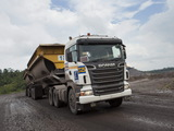 Images of Scania R580 6x4 2005–09