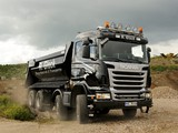 Images of Scania R480 8x4 Tipper 2009–13