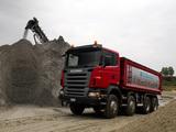 Photos of Scania R480 8x4 Tipper 2004–09