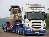 Photos of Scania R580 6x2 Topline UK-spec 2004–09