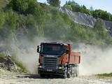 Photos of Scania R420 8x4 Tipper 2004–09