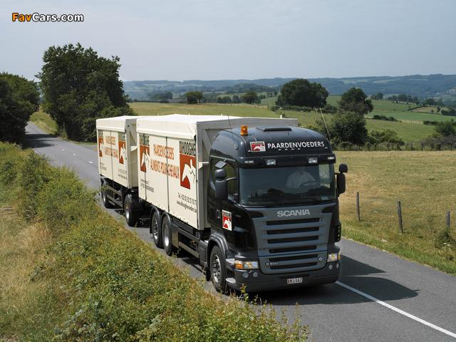 Photos of Scania R500 6x2 Highline 2004–09 (640 x 480)