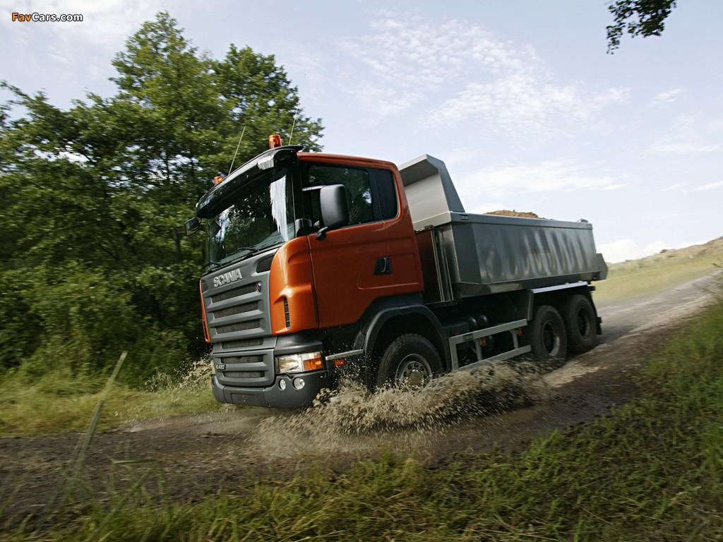 Photos of Scania R420 6x4 Tipper 2004–09 (1024 x 768)