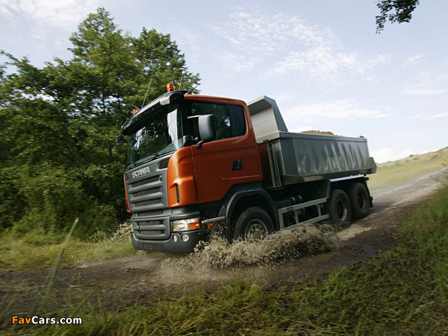 Photos of Scania R420 6x4 Tipper 2004–09 (640 x 480)