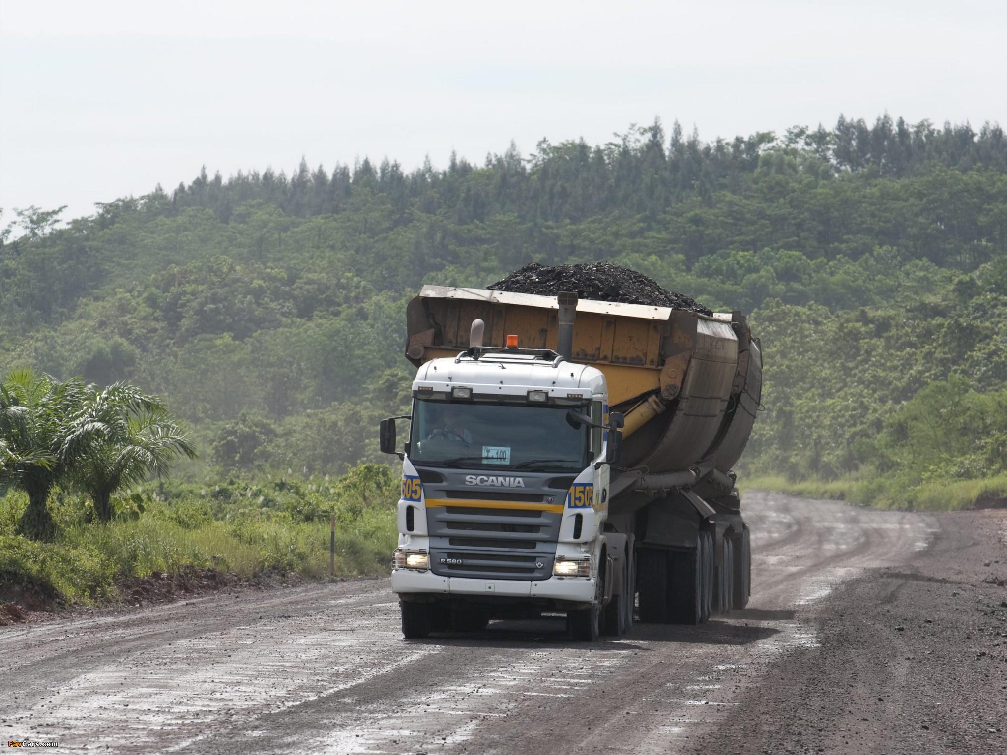 Photos of Scania R580 6x4 2005–09 (2048 x 1536)