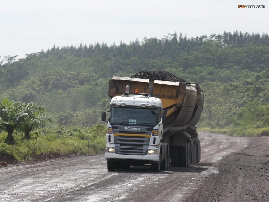 Photos of Scania R580 6x4 2005–09 (1024 x 768)
