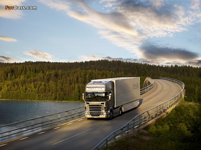 Photos of Scania R440 4x2 Topline 2009–13 (640 x 480)