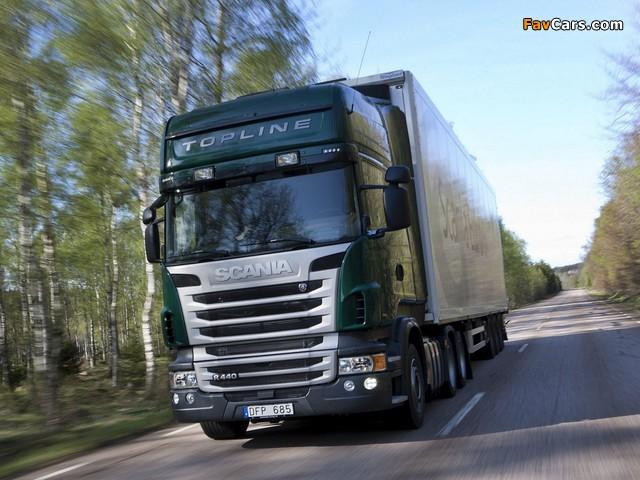 Photos of Scania R440 6x2 Topline 2009–13 (640 x 480)