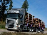 Photos of Scania R620 6x4 Highline Timber Truck 2009–13