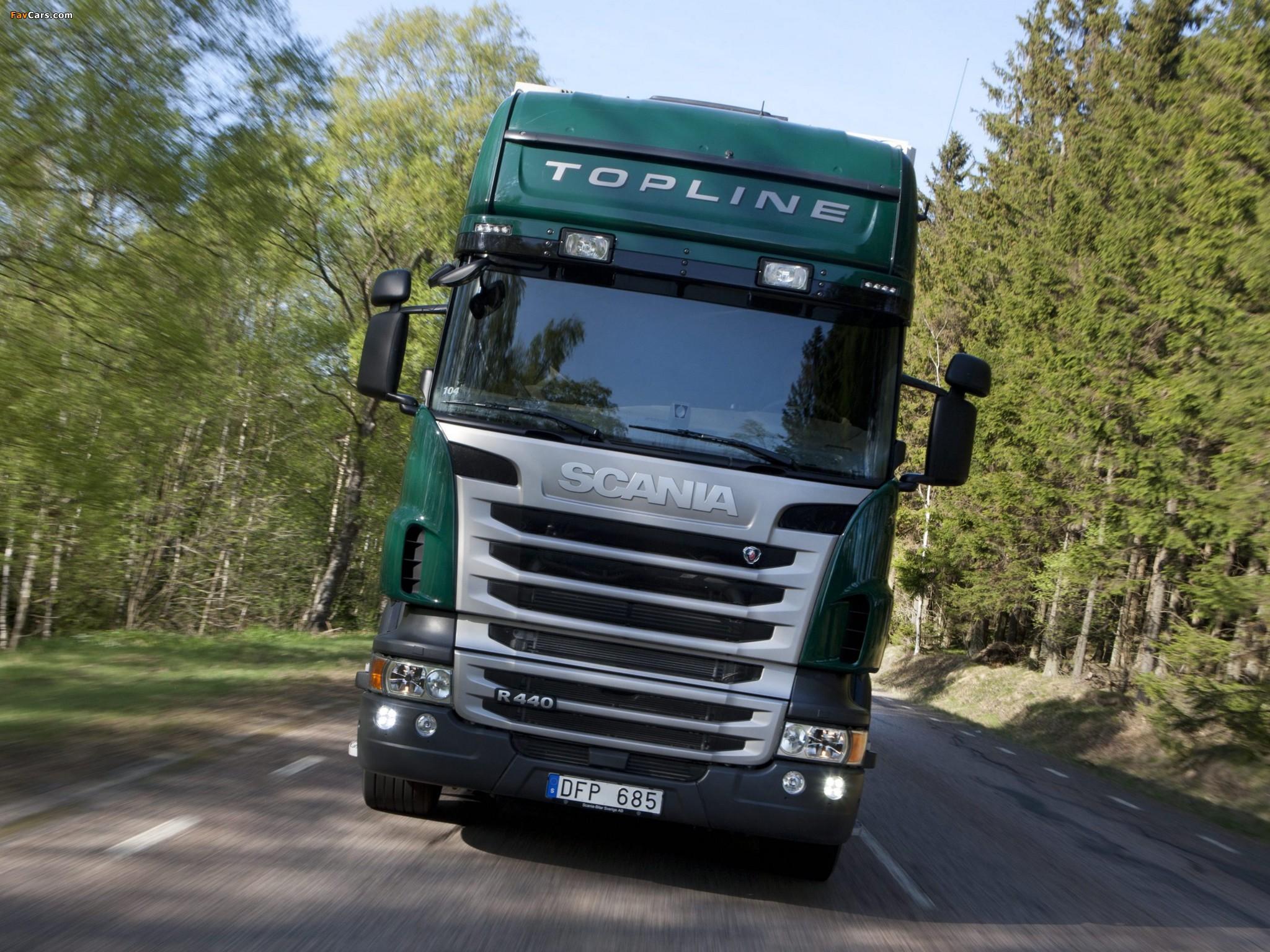Photos of Scania R440 6x2 Topline 2009–13 (2048 x 1536)