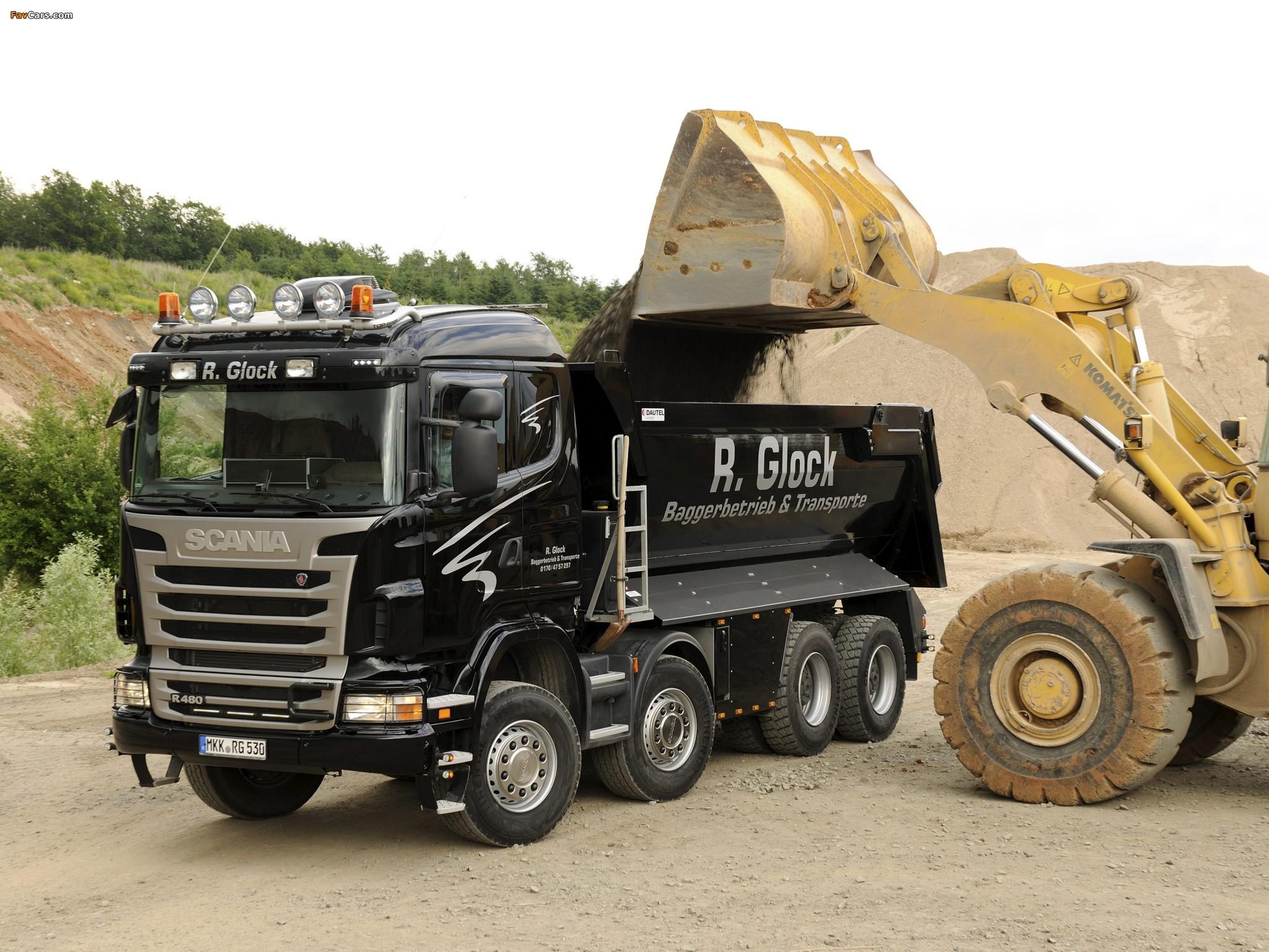 Photos of Scania R480 8x4 Tipper 2009–13 (2048 x 1536)