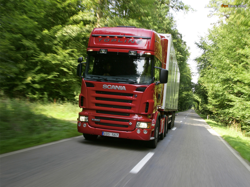 Pictures of Scania R560 6x2 Topline 2004–09 (1024 x 768)