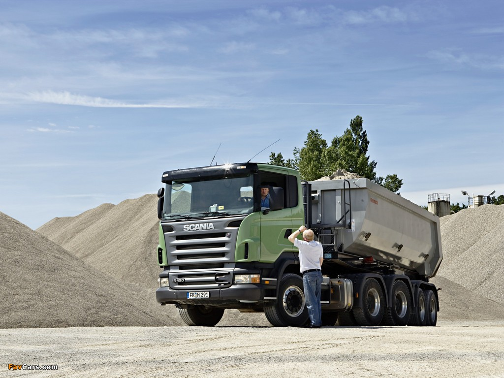 Pictures of Scania R420 6x4 2004–09 (1024 x 768)