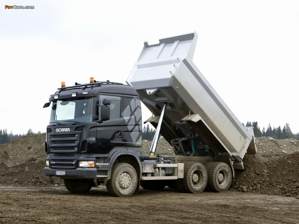 Pictures of Scania R500 6x4 Tipper 2004–09 (1024 x 768)