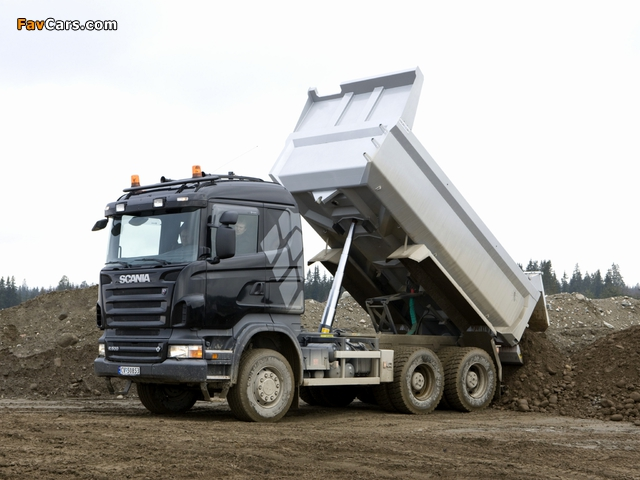 Pictures of Scania R500 6x4 Tipper 2004–09 (640 x 480)