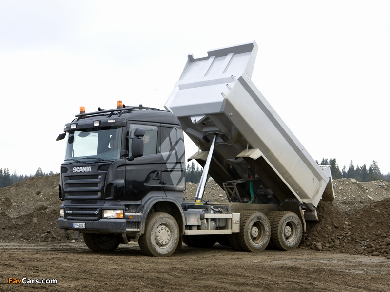 Pictures of Scania R500 6x4 Tipper 2004–09 (800 x 600)