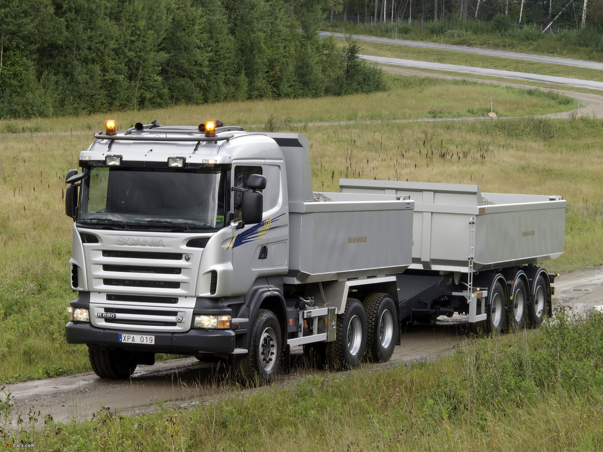 Pictures of Scania R620 6x4 Tipper 2005–09 (2048 x 1536)